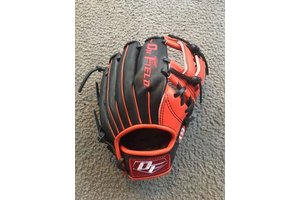 On Field On Field Pro Series american kip OF-19 Black/Red 11.5''