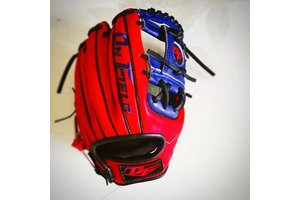 On Field On Field Pro Series euro kip OF-1 Navy/Red 11.5''