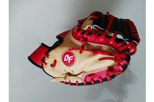 On Field On Field Pro Series american kip OF-8 Red/Beige catcher 33.5''