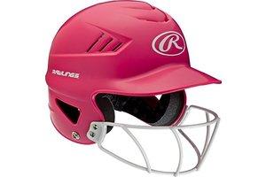 Rawlings Rawlings Cool-flo Series Softball mask Helmet Pink