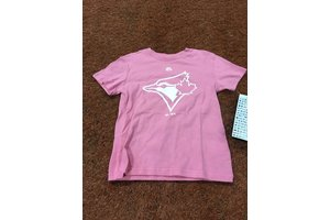 Majestic Majestic girl pink Toronto Blue Jays T-Shirt - MLB