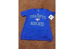 Majestic Majestic coolbase Toronto Blue Jays city wide T-Shirt blue for kids