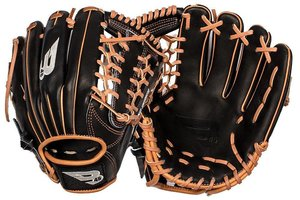 B45 B45 Diamond Series Fielding Glove Black/Brown LHP 11.75''