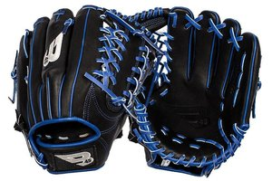 B45 B45 Diamond Series Fielding Glove Black/Blue RHP 11.75''