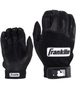 Franklin Franklin Pro Classic Batting Gloves Black/Black