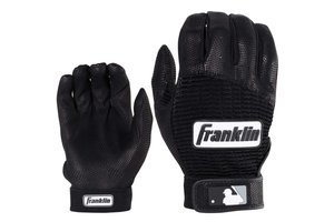 Franklin Franklin Pro Classic Batting Gloves Black/Black