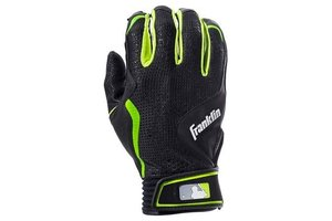 Franklin Franklin Freeflex Batting Gloves Black/Black