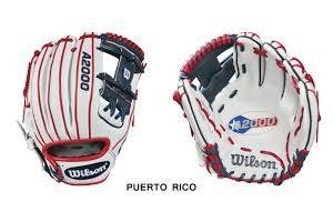 Wilson Wilson A2000 Special edition WBC Puerto Rico glove 11.5''