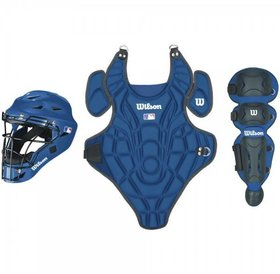 Wilson Wilson EZ Catcher Kit L-XL ages 7-12 royal