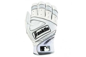 Franklin Franklin The Powerstrap Batting Gloves White