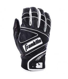 Franklin Franklin The Powerstrap Batting Gloves black/Black