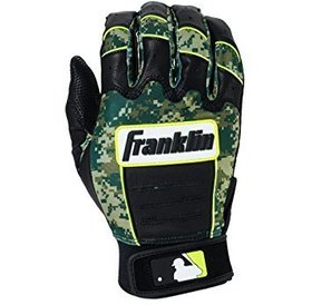 Franklin Franklin CFX Pro Digi Series Batting Gloves Black/Green Digi-Camo