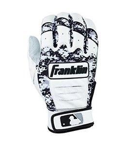 Franklin Franklin CFX Pro Digi Series Batting Gloves White/Black Digi-Camo