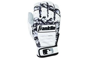 Franklin Franklin CFX Pro Digi Series Batting Gloves White/Black Digi-Camo