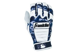 Franklin Franklin CFX Pro Digi Series Batting Gloves White/ Navy Digi-Camo