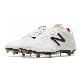 New Balance Athletic shoe inc New Balance Low 3000 White/Silver Mens Shoe