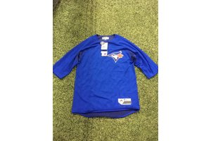 Majestic Majestic On-field 3/4 sleeve BP trainer Blue Jays