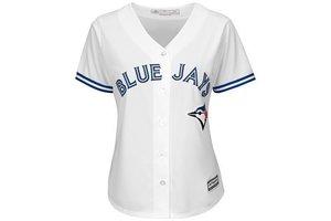 Majestic Majestic Womens Cool Base® Alternate Jersey - Toronto Blue Jays