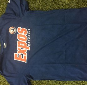 New Era New Era Montreal Expos Mens T-shirt Royal