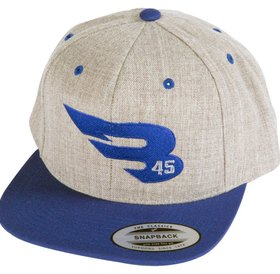 B45 B45 Snapback Grey/Royal Cap