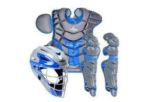 All Star All-Star System 7 Camo Pro Catching Kit 16.5'' Graphite/Royal