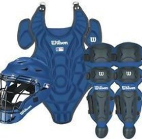 Wilson Wilson EZ Catcher Kit S-M ages 5-7 royal