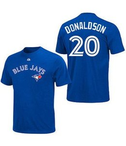 Majestic Majestic Canada name and number tee -  Youth Donaldson