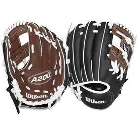 Wilson Wilson A200 WTA02RB1595B tball glove 9.5''