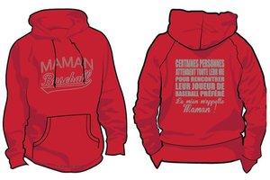 Authentic t-shirt company OF - Kangourou maman baseball