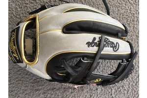 Rawlings Rawlings HOH Glove of the Month PRO234-2BG Black/Grey/Gold 11.5'' RHT