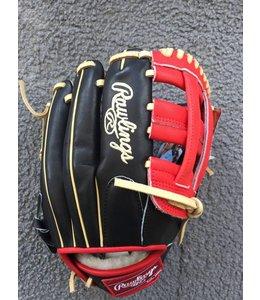 Rawlings Rawlings Pro Preferred Glove of the Month PRODJ2B-BOG Black/Camel/Red 11.5'' RHT