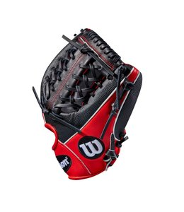 Wilson Wilson A2000 Superskin Glove of the Month May 1789 11.5'' RHT Black/Red