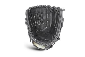 All Star All Star Classic Basket Pitcher's Glove Black 12'' LHT