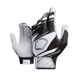 EvoShield EvoShield Batting Gloves Black/White/Grey