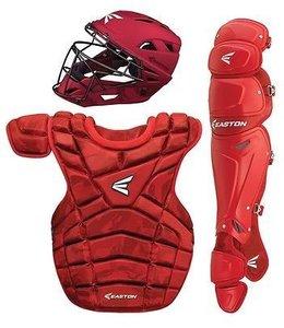 Easton Easton M10 custom Catcher set intermediate red /camo 13 - 15 years old