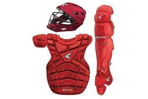 Easton Easton M10 custom Catcher set intermediate red /camo 13 - 15 years old