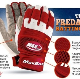 MaxBat MaxBat Predator II Batting Gloves