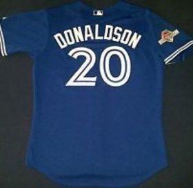 Majestic Majestic Toronto Blue Jays replica jersey Josh Donaldson - Post season patch