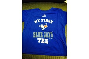 Majestic Toronto Blue Jays Toddler My first Jays t-shirt