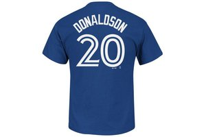 Majestic Majestic J Donaldson 20 Player Name Number