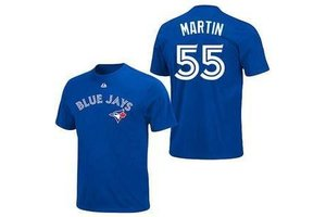 Majestic Majestic Canada name and number tee -  Youth Martin