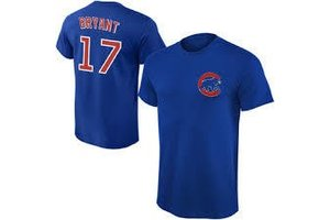 Majestic Majestic player name and number deep royal t-shirt K.Bryant