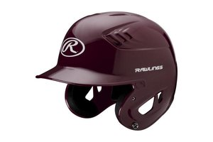 Rawlings Rawlings CFABHN Batting Helmet Maroon