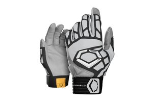 EvoShield Evoshield Adult Impakt 550 Batting Gloves adult grey large