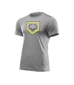 EvoShield Evoshield Men's Home Plate Flash T-Shirt large