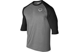 EvoShield Evoshield Adult 3/4 Sleeve Performance Baseball Shirt large