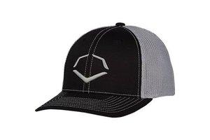 EvoShield Evoshield Speed Stripe Mesh FlexFit hat black/Grey L/XL