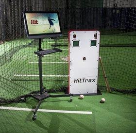 Match sur simulateur HitTrax 2 a 8 personnes