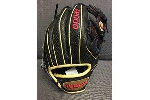 Wilson Wilson A2000 Glove Of The Month September 1786 SnakeSkin Black/Gold 11.5'' RHT