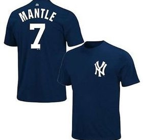 Majestic Majestic Mickey Mantle 7 New York Yankees t-shirt